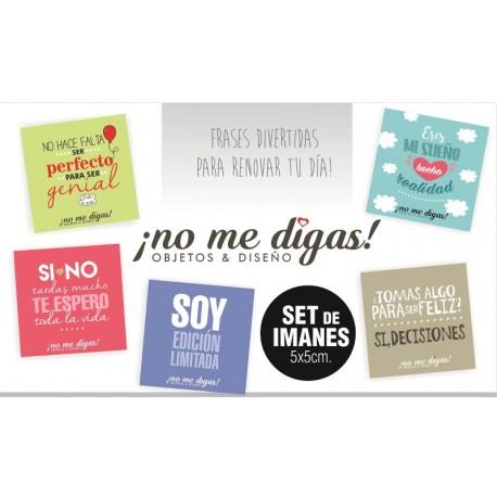 Imanes Frases Divertidas Pack X 5
