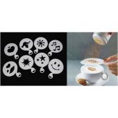STENCIL PARA CAFE X 6